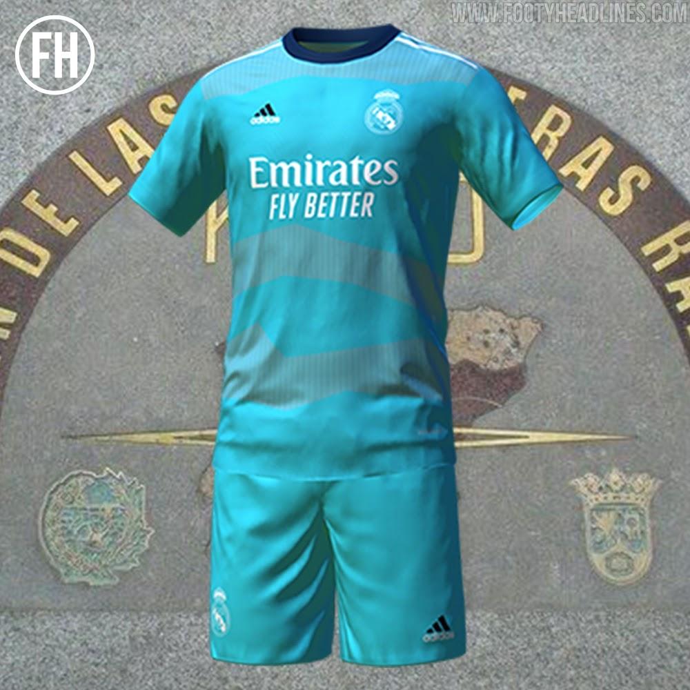 Tercera Camiseta del Real Madrid 2021-2022