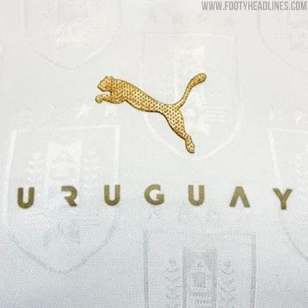 Camisetas de Local y Visitante de Uruguay 2021