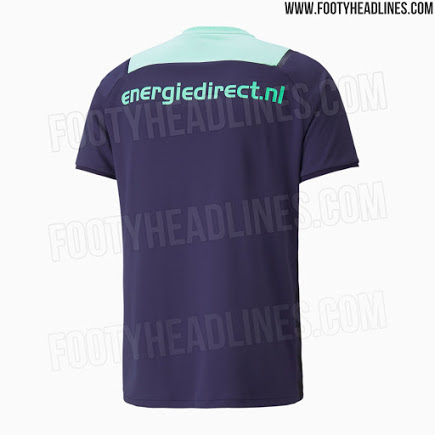 Camiseta de Visitante del PSV 2021-2022