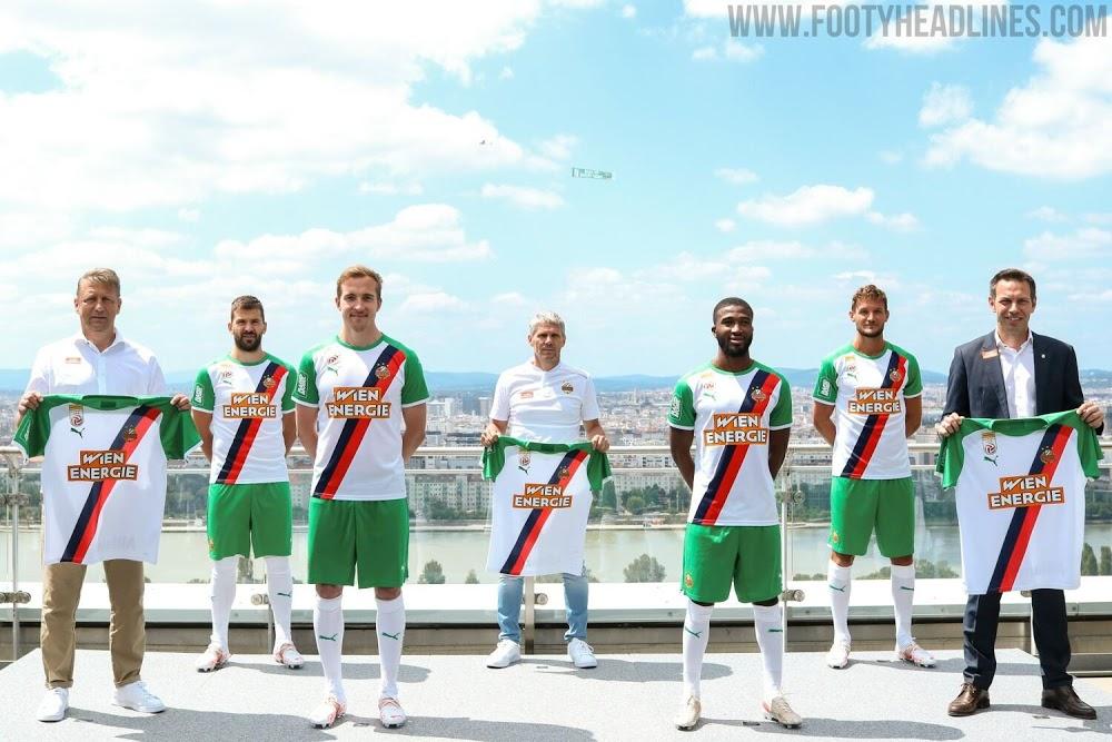 Camiseta de Local del Rapid Vienna 2021-2022