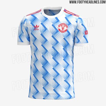 Camiseta de Visitante del Manchester United 2021-2022