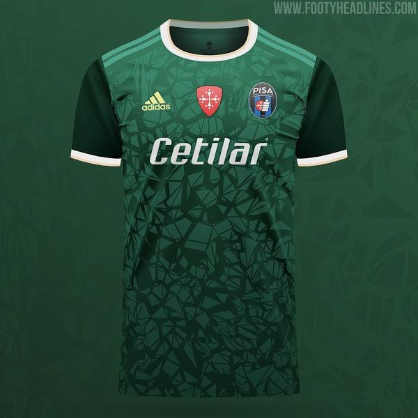 Tercera Camiseta del Pisa 2021-2022