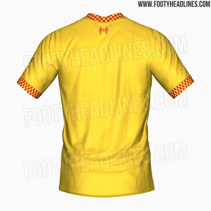Tercera Camiseta del Liverpool 2021-2022
