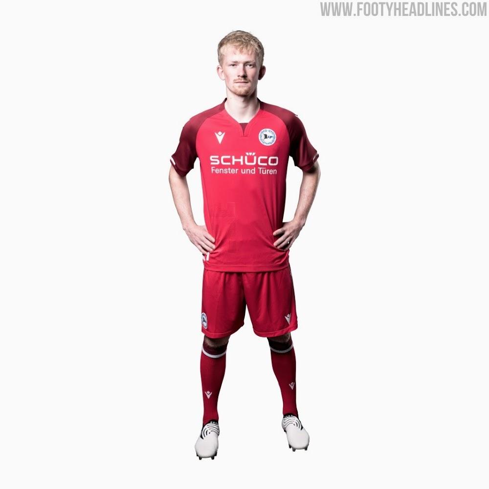 Camiseta de Local, Visitante y Tercera del Arminia Bielefeld 2021-2022