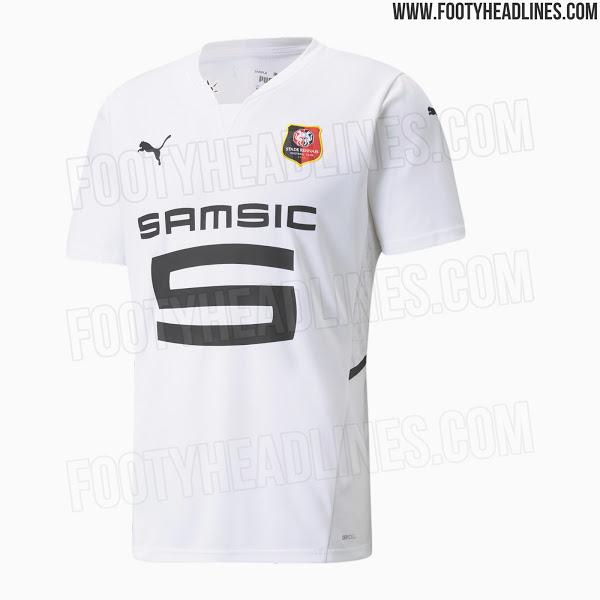 Camisetas de Local y Visitante del Stade Rennais 2021-2022