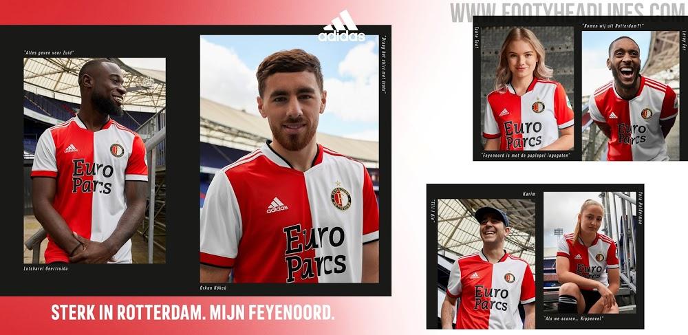 Camiseta de Local del Feyenoord 2021-2022