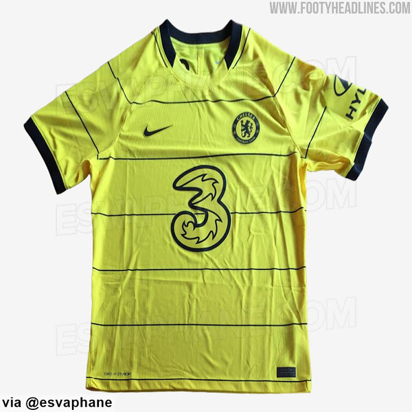 Camiseta de Visitante del Chelsea 2021-2022