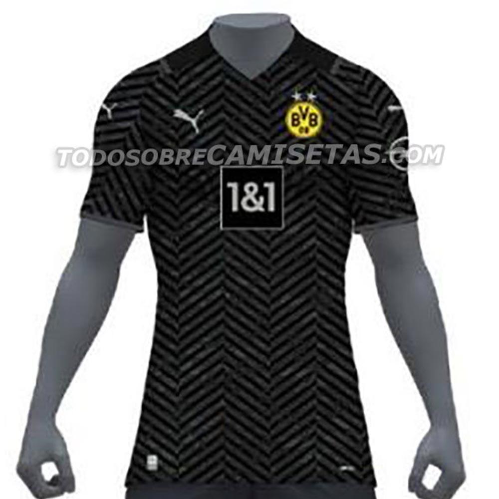 Camiseta de Visitante del Borussia Dortmund 2021-2022