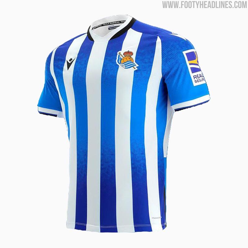 Camisetas de Local y Visitante de la Real Sociedad 2021-2022