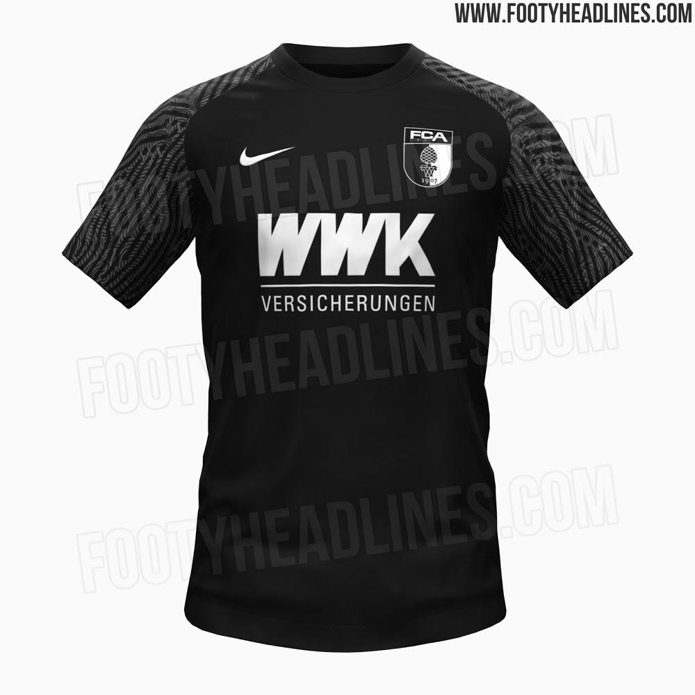 Camisetas de Visitante y Tercera del FC Augsburgo 2021-2022