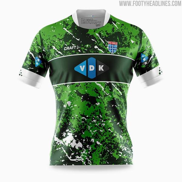 Camisetas de Local y Visitante del PEC Zwolle 2021-2022