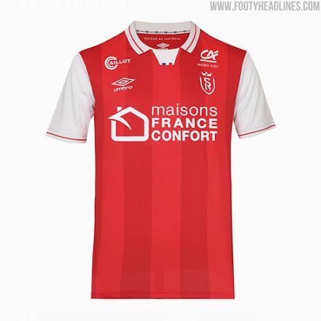 Camiseta de Local del Stade Reims 2021-2022