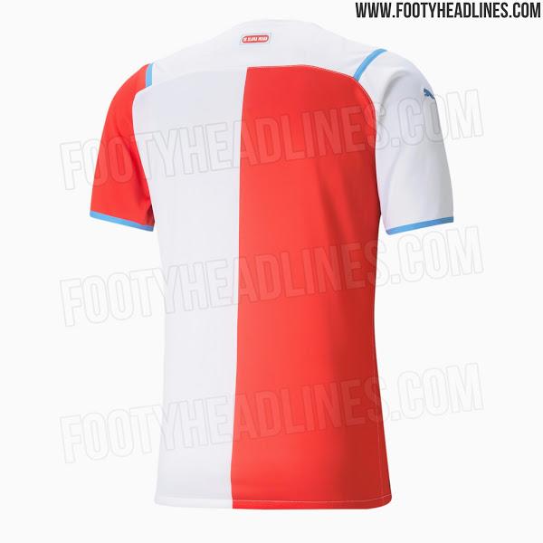 Camiseta de Local y Visitante del Slavia Praha 2021-2022