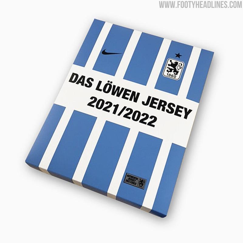 Camiseta de Local del 1860 Múnich 2021-2022