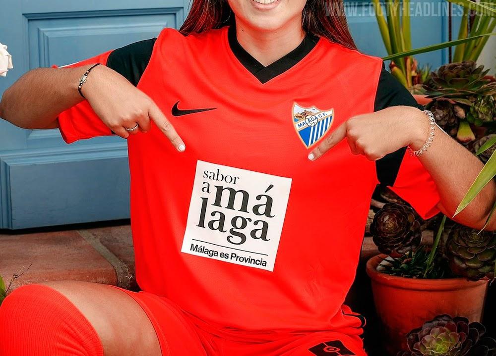 Camiseta de Local, Visitante y Tercera del Málaga 2021-2022