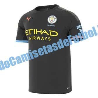 Segunda CAMISETA del Manchester City 2020