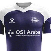 Camiseta especial del Alavés para la temporada 2019-2020 Para Ser Usado Cuando La Liga Reanude