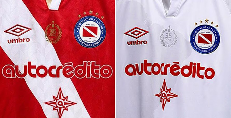 Camisetas de Local y Visitante de Argentinos Juniors 2020-2021