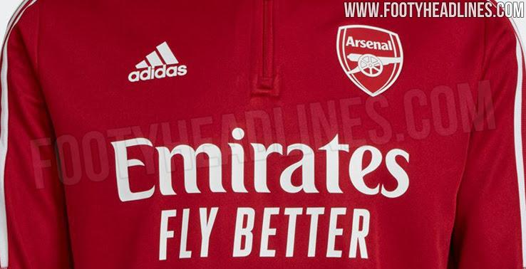 Chaqueta de Entrenamiento del Arsenal 2021-2022