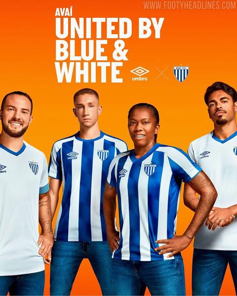 Camiseta de Local y Visitante del Avaí FC 2021-2022