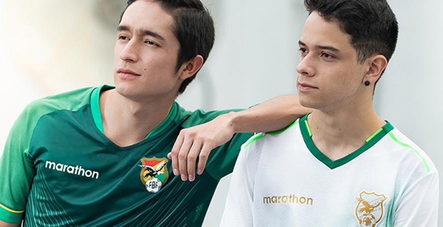 Camisetas de Bolivia para la Copa América 2020
