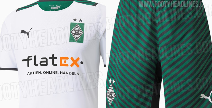 Camiseta de Local del Borussia Mönchengladbach 2021-2022