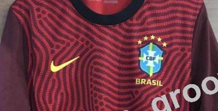 Camiseta de Portero de Brasil 2020-2021