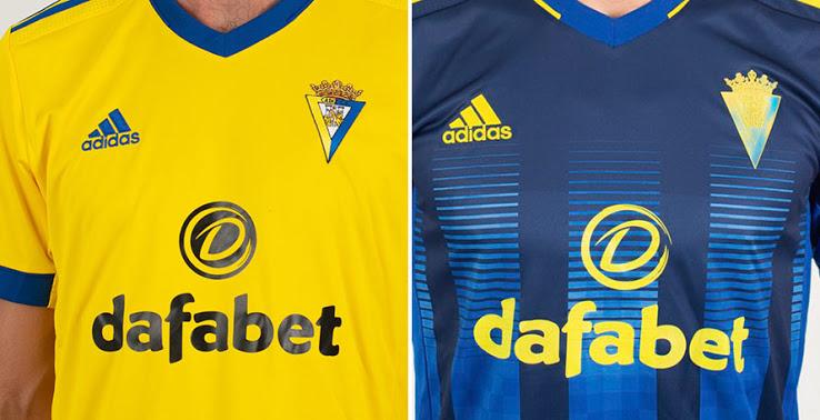 Camiseta de Local y Visitante del Cádiz FC 2020-2021