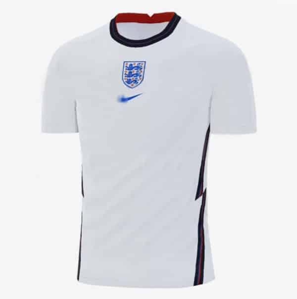 Camiseta de Inglaterra para la Euro 2020