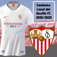 Camiseta Local del Sevilla FC 2019-2020
