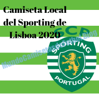 Camiseta Local del Sporting de Lisboa 2020