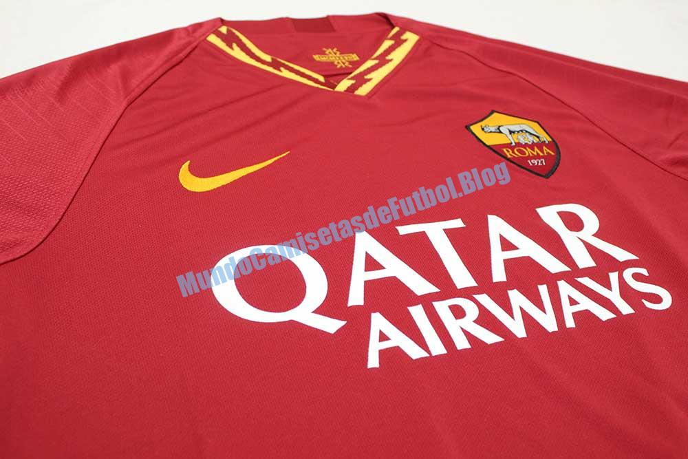 camiseta local del AC Roma 1 Equipacion 2020
