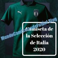 Camiseta de la Selección de Italia 2020