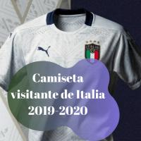 Camiseta visitante de Italia 2019-2020