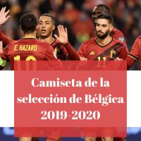 Camiseta de la selección de Bélgica 2019-2020