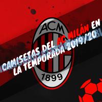 Camiseta del AC Milán 2019-2020