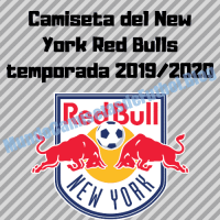 Camiseta del New York Red Bulls temporada 2019/2020