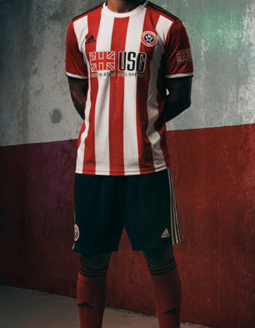 Camiseta del Sheffield United FC para el 2020