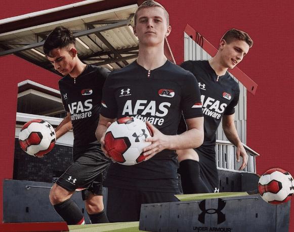 Camiseta del Alkmaar de la liga francesa 2020