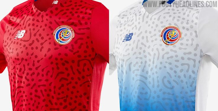 Camiseta de Local y Visitante de Costa Rica 2021