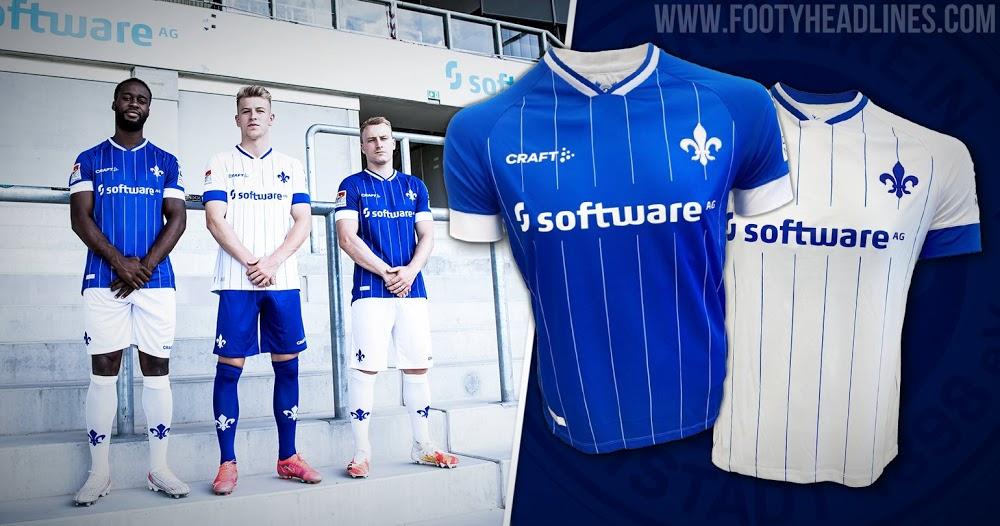 Camiseta de Local y Visitante del Darmstadt 98 2021-2022