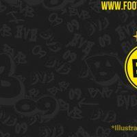 Camiseta de Visitante del Borussia Dortmund 2020-2021 Diseño De Graffiti filtrado