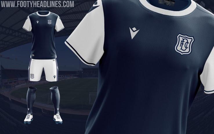 Camiseta de local del Dundee FC 2020-2021