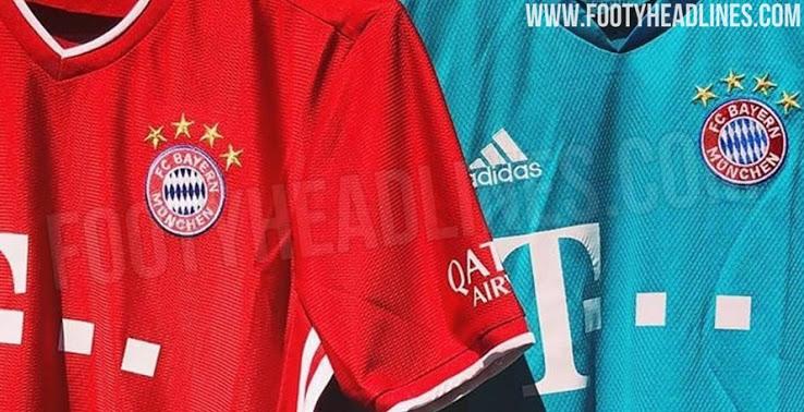 Camiseta del Bayern De Múnich 2020-2021 Local Y de Portero Filtrado