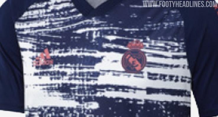Camiseta Pre-Partido del Real Madrid 2020-2021