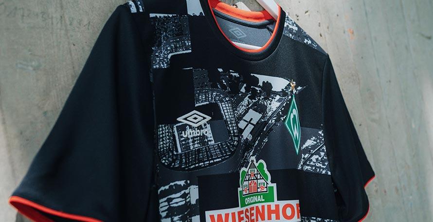 """Camiseta Alternativa del Werder Bremen 2020-2021 """"Ciudad"""""""