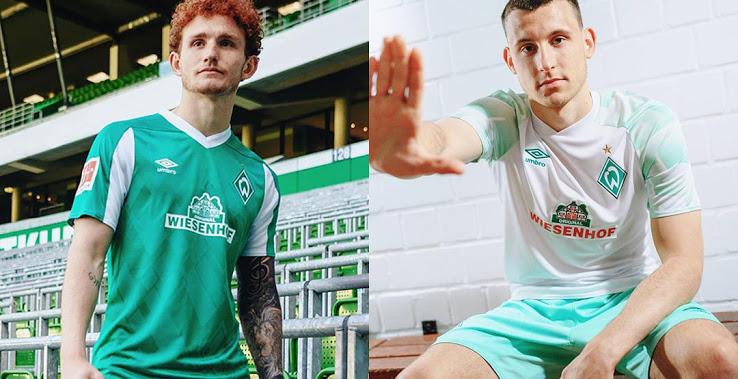 Camisetas de Local y Visitante del Werder Bremen 2020-2021