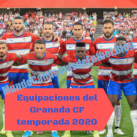 Equipaciones del Granada CF temporada 2020