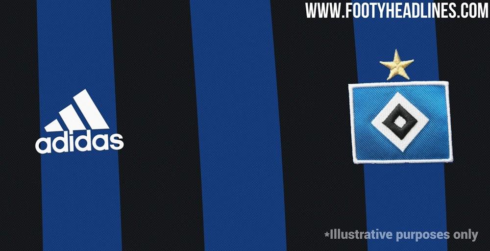 Camiseta de Visitante del Hamburgo 2021-2022