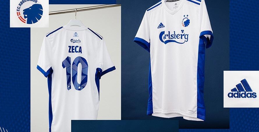 Camiseta de Local del Copenhagen FC 2020-2021